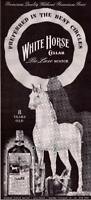 1931 Vintage ad  White Horse Deluxe Scotch  Whisky  Man Cave Art
