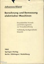 Klamt Berechnung und Bemessung elektrischer Maschinen EA 1962