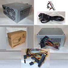 PC Netzteil ATX 400W 8cm Lüfter 20/24 P4 2x SATA 2x IDE FDD Sehr leise + Kabel