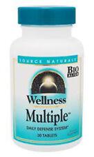 Source Naturals Wellness Multiple  - 30 Tablets