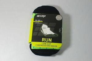 CEP Sportswear Dynamic+ Low-Cut Socks Size III Mens Medium Blue/Green