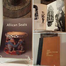 Tribal African Art 2-book bundle Fagg Mask Figure Sculpture Statue