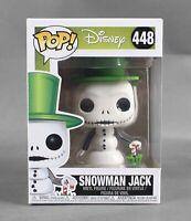 Funko POP Disney #448 Snowman Jack Vinyl Figure 1089W