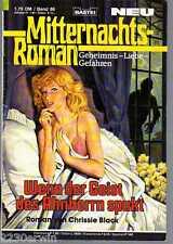 MITTERNACHTS-ROMAN Nr. 86 / (1985-2001 Bastei) / WENN DER GEIST DES AHNHERRN ...