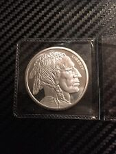 1 OZ .999 SILVER ROUND GOLDEN STATE MINT INDIAN HEAD/BUFFALO