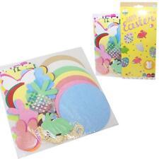 Easter Arts & Craft, Decorations, Egg Hunt - Stickers & Gems - Craft Kit