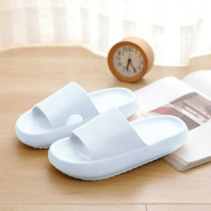UK PILLOW SLIDES Sandals Ultra-Soft Slippers Extra Soft Cloud Shoes Anti-Slip