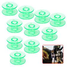 10x Green Bobbin Spools Sewing Machine fit for Husqvarna Viking 4123078-G Li