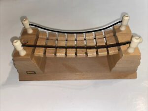 Brio Wooden Train Rope Bridge 33396 - GREAT Condition!