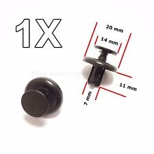 1x Plastic Trim Clips Toyota Wheel Arch Inner Wing Lining, Engine Shields Cover