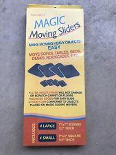 Magic Moving Sliders Move Furniture without Men Slides Over Carpet Tile Floors