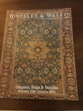 WOOLLEY and WALLIS  CATALOGUE  CARPETS RUGS and TEXTILES  OCTOBER 2003