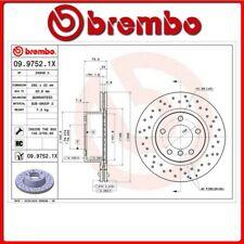 09.9752.1X#5 DISCO FRENO ANTERIORE SPORTIVO BREMBO XTRA BMW 1 (E87) 118 d 100 Kw