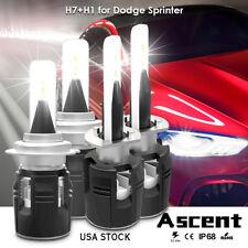 H1 H7 HB3 LED Headlight Kits Bulbs High Low Beam For Dodge Sprinter 2006-2005 CN