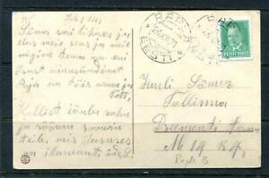 Estonia/Estland Postal card Used cancel 24/XII/1928 Single Usage  9476