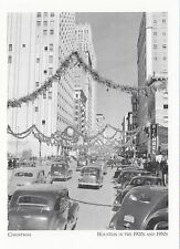 (PO25) Cartolina - Natale, Houston in Negli anni '20/ Anni '30 (carta moderna)