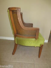 SM Wingback Chair Hollywood French Provincial Victorian Regency Fauteuil Cane