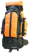 ORANGE Extra Large Backpack Camping 4700 CI NEW  Internal Frame Hunting Travel