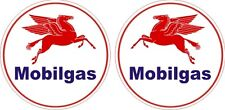 Vintage Mobil Oil Gas Pegasus Round Decal - The Best