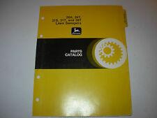 John Deere 26H ,  26T  ,  31S ,  31T ,  38T Lawn Sweeper Parts Manual , PC-1221