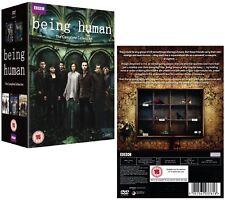 BEING HUMAN 1-5 (2009-2013): COMPLETE TV Seasons Series - NEW  UK DVD not US