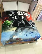 Star wars lots man coral fleece quilt blanket cartoon unfading carpet COOL