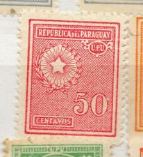 Paraguay 1927-42 Early Issue Fine Mint Hinged 50c. 282609