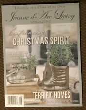 Jeanne d' Arc Living Magazine Issue 8th 2018 Christmas