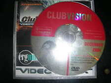RARE Club Vision Dec 2004 Exclusive Promo Only Music Videos VJ Pro Series DVD