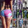 Womens Yoga Gym Pants Running Sport Leggings Fitness Jogging Baselayers Trousers