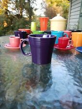 Tapered/ Squat coffee MUG plum purple NEW FIESTAWARE FIESTA WARE 15OZ