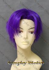 Rurouni Kenshin Shinomori Aoshi Custom Made Cosplay Wig_commission934