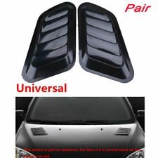 1 Pair Car Cool Air Flow Intake Vent Cover Decal Accessories for BMW VW FORD