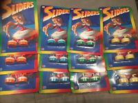 12 Packungen á 2 MB Sliders in 4 versch. Farben / Lot of 6 Packs - Vintage 1988