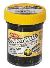 (100g/7,00€)  Berkley Natural Scent Trout Bait Garlic Black 1313127