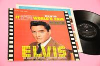Elvis Presley LP En Happened at The Orig Italy 1963 Living Stereo