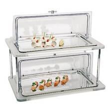 Paderno Sambonet Buffet Vetrina refrigerata, 2 piani con coperchi
