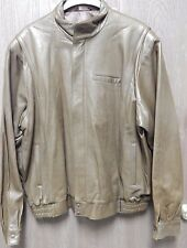 First Street Leather Jacket Mens Size Large 48 Solvang California Rare