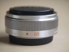 USED PANASONIC Lumix G 20mm f/1.7 II Aspherical AF G Lens (Silver)