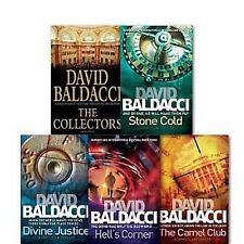 The Camel Club Oliver Stone Series Books in Order by David Baldacci [NEW]