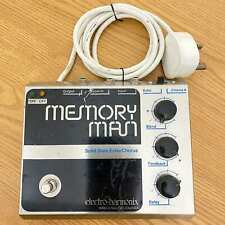 Electro-Harmonix Deluxe Memory Man 1976 | Attached Power Supply with Big Plugs