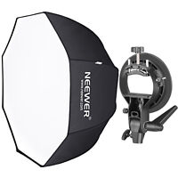 Neewer Studio 32 inch Octagonal Softbox with S-Type Bracket Holder Kit