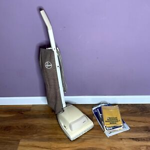 Vintage Hoover Upright Vacuum Cleaner, Model U1104, 300W, Working, Prop + Bags