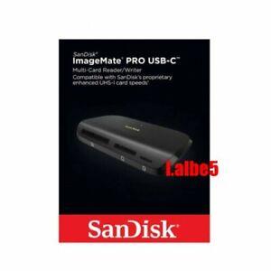 Sandisk ImageMate Pro USB-C Multi Card Reader Writer Micro SD CF SDHC SDXC