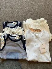 5 Brand New Purebaby & Marquise Baby Growsuit One Piece 0000 00 0 BNWT