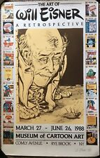 The Art of Will Eisner: A Retrospective. Museum Poster signed limited 948/950