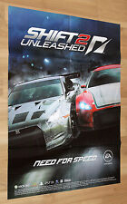 Need for Speed SHiFT 2 Unleashed rare Poster  80x60cm PS3 Xbox 360 Playstation 3