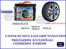 CATENE DA NEVE  MICHELIN  Easy Grip Evolution SEZIONE GOMME195/55-R16 OMOLOGATE