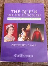 Royal Figure-Women Printed Collectable Postcard Sets