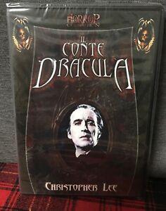 IL Conte Dracula DVD 1970 Horror Cult Con Christopher Lee Come da Foto